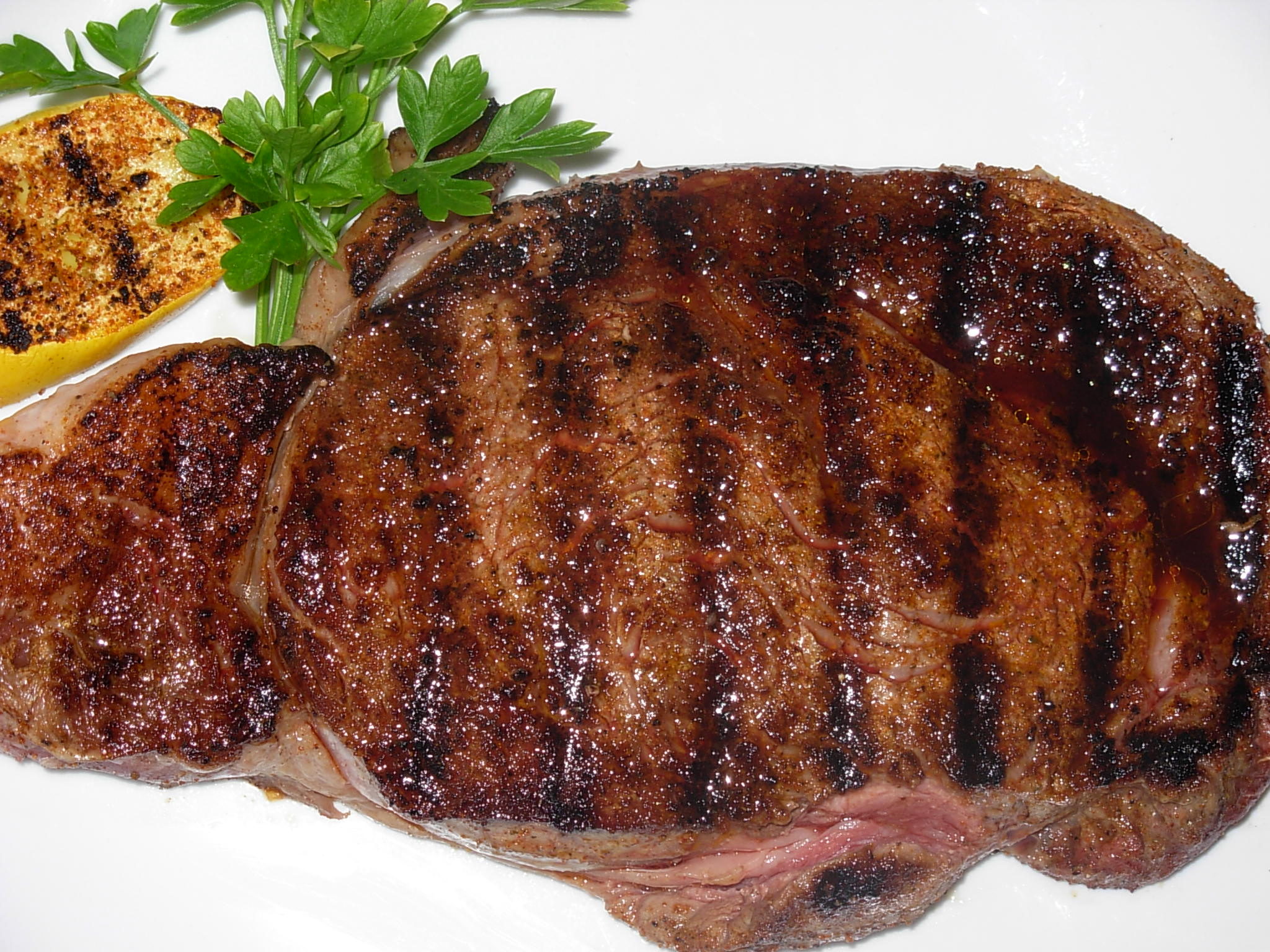 how to cook a thick ribeye